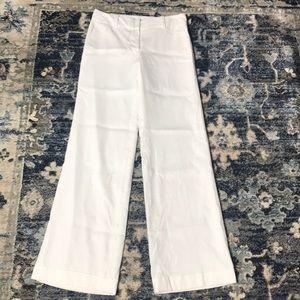 Ann Taylor white wide leg pants 2